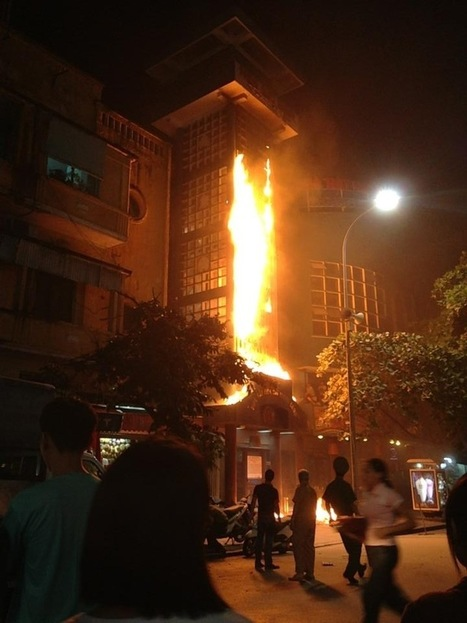 Fire Destroys Hanoi Water Puppet Theater - Diaries of a Meiguo Man   Expat Life in Hanoi   Scoop.it