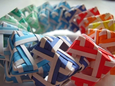Modular Origami: The Ancient Art of Kusudama Evolved | Ancient Art History Summary | Scoop.it