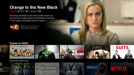 Netflix on track to reach 100MN non-US subs by 2020   Curation first   Scoop.it