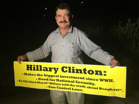 Orlando shooter's father attends Hillary Clinton rally in Kissimmee | United States Politics | Scoop.it