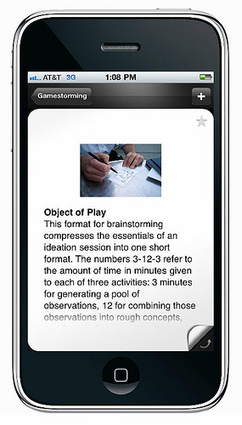 Gamestorming » iPhone app | UID IxD Degree Project | Scoop.it
