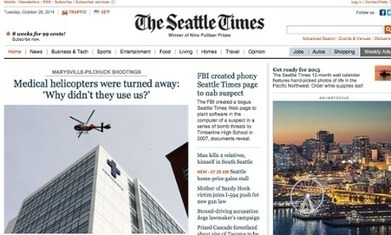 Fake Seattle Times news story created by FBI provokes outrage at newspaper | Ethical Issues In Technology | Scoop.it