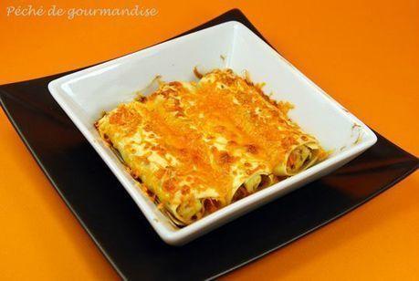 Cannellonis au poulet et à la mimolette | The Voice of Cheese | Scoop.it
