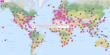 Newstral: Maps - Aktuelle Nachrichten auf einer Karte am Ort ihres Geschehens. | Inter-Facing the Archive | Scoop.it