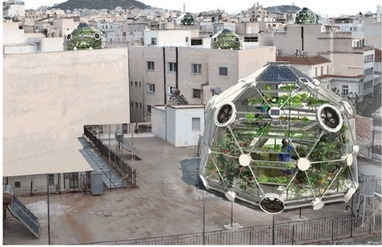 A Geodesic Dome Promises Fish from the Sky | green streets | Scoop.it