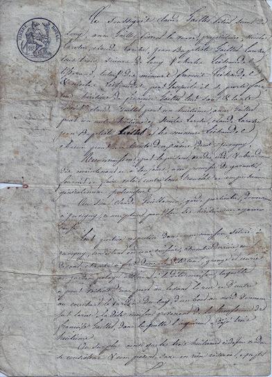 MesRacinesFamiliales: C comme Contrat de Vente d'une maison en 1836 Juvigny en Perthois - Meuse #challengeAZ | Rhit Genealogie | Scoop.it