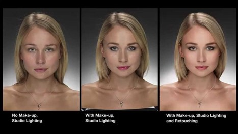 """Watch this """"Before and After"""" Photoshop demonstration? - YouTube 