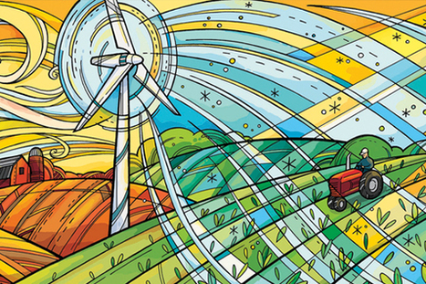 Wind power helps make agriculture more sustainable | FoodFighters | Scoop.it