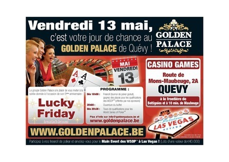 Le site 4Aspoker vous emmène à Vegas avec Golden Palace | Official satellite WSOP®2011 www.goldenpalace.be | Scoop.it