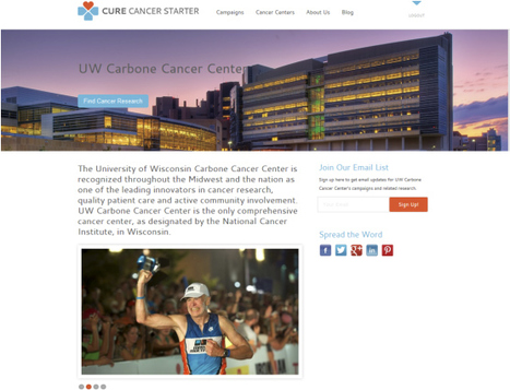 First Views of Cure Cancer Starter Cancer Center Pages Now On Facebook! | Design Revolution | Scoop.it
