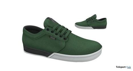 Killaq Sneakers Green by Monkey B   Teleport Hub - Second Life Freebies   Second Life Freebies   Scoop.it