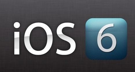 Apple's iOS 6 Update Will Be Available On September 19 | iPADS EN EDUCACIÓN | Scoop.it