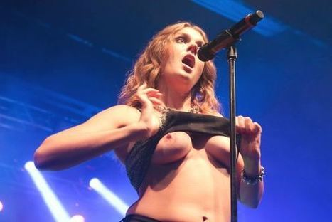 Photos : Tove Lo seins nus en concert à Rio | Radio Planète-Eléa | Scoop.it