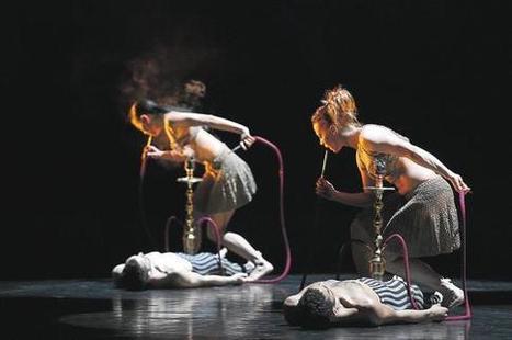 Preljocaj fait danser la nuit - Les Échos | Ballet Preljocaj | Scoop.it