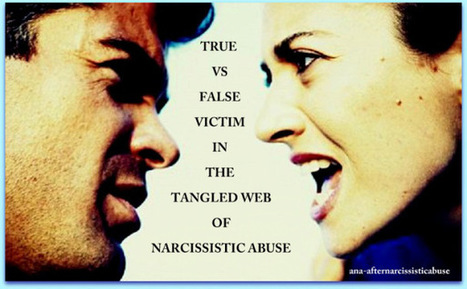 5 Differences Between a TRUE VICTIM & FALSE VICTIM of Narcissistic Abuse | Narcissistic Personality Disorder | Scoop.it