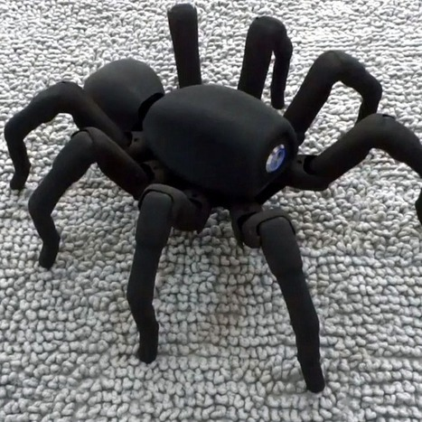 3D-Printed Spiderbot Is Stuff of Dreams and Nightmares | Interesting Innovation | Scoop.it
