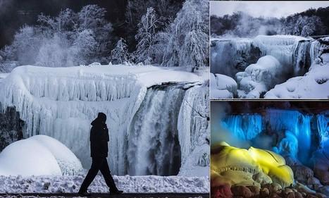 Niagara Falls comes to a frozen halt AGAIN | Avant-garde Art, Design & Rock 'n' Roll | Scoop.it