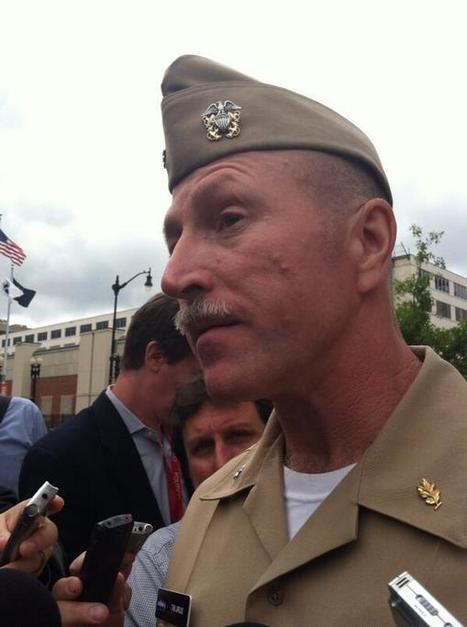 #NavyYardShooting Updates:Navy commander Tim Jirus just told reporters he saw guy get shot in the head at Navy Yard   Littlebytesnews Current Events   Scoop.it