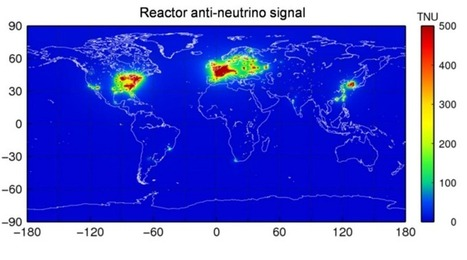 Physicists Produce An Antineutrino Map Of The World | Amazing Science | Scoop.it