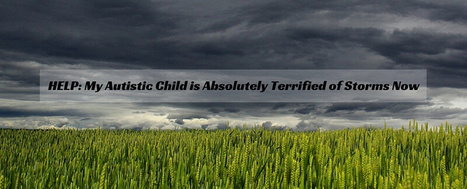 HELP: My Autistic Child is Absolutely Terrified of Storms Now - Autism Parenting Magazine | Autism Parenting | Scoop.it
