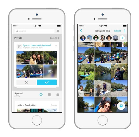 Facebook releases Moments app to rescue photos of your friends from your camera roll | Facebook for Business Marketing | Scoop.it