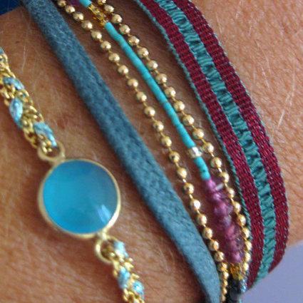 La couleur est à l'honneur sur les bijoux de Rentrée ! - Comptoir des Filles | Comptoir des Filles | Scoop.it