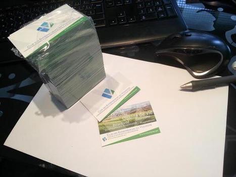 Les cartes de visite du Club des Entrepreneurs du Volvestre | Le Volvestre | Scoop.it