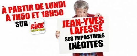 Jean-Yves Lafesse de retour sur Rire & Chansons | Radioscope | Scoop.it