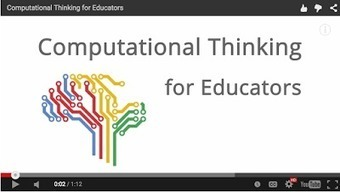Google Offers A Free Online Computational Thinking Course for Educators ~ Educational Technology and Mobile Learning | Edtech PK-12 | Scoop.it