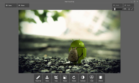 Pixlr Touch Up, el editor fotográfico offline de AutoDesk para Chrome.- | Software+App+Web.- | Scoop.it