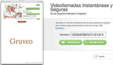 Gruveo, llamadas de voz y vídeo gratis desde tu navegador | Las TIC y la Educación | Scoop.it