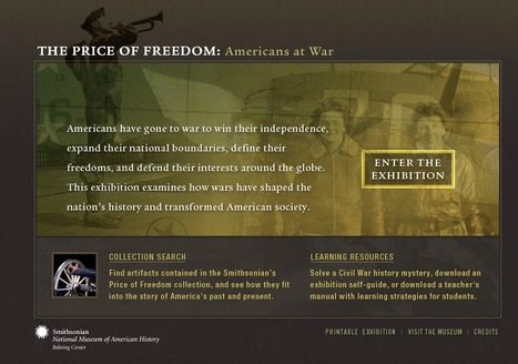 The Price of Freedom: Americans at War | K-12 Web Resources - History & Social Studies | Scoop.it
