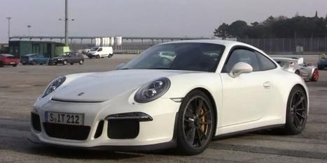 Porsche 991 GT3: Brutal Exhaust Sound [Video] - autoevolution | The World of Porsche 911 | Scoop.it