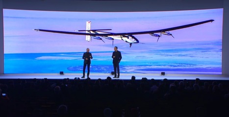 Solar Impulse 2: Around the World without Fuel or Fear – from Davos | Green Living | Scoop.it