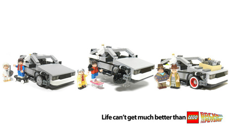 The Lego Back to the Future Set Is Now OFFICIAL! - Gizmodo | Lego Mindstorms | Scoop.it