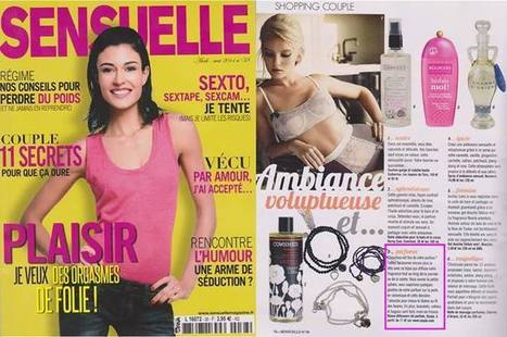 Sensuelle - Avril 14 | Beauty Push, bureau de presse | Scoop.it