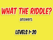 What The Riddle Answers Level 1 to 20 | Game solver | Scoop.it