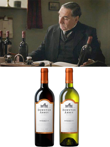 Sip in Style with New 'Downton Abbey' Wines | Autour du vin | Scoop.it
