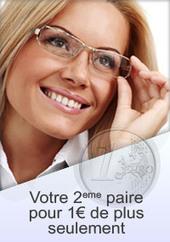 Seconde paire de lunettes de vue à 1 euro | Lunettes Promo | Scoop.it