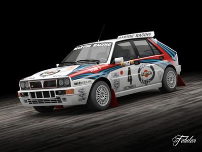 Lancia Delta rallye | 3D Library | Scoop.it
