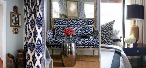 Tissus à motifs pour la décoration d'intérieur : l'ikat | decocouture | Scoop.it