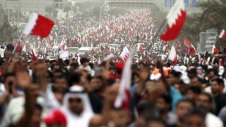 Anti-regime protesters hold rally in Bahrain | Human Rights and the Will to be free | Scoop.it