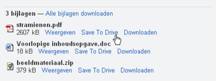 Bijlagen bewaren in Google Drive | Edu-Curator | Scoop.it