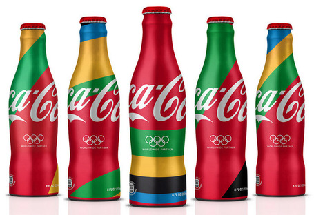 MWM graphics and attik: london 2012 olympics coca cola branding | timms brand design | Scoop.it