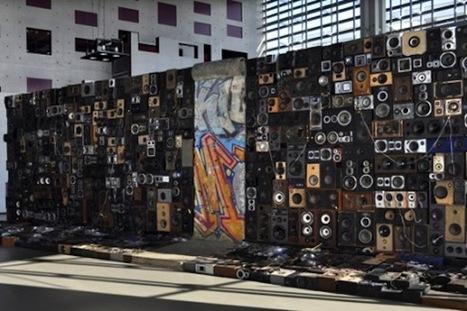 "MAKE | Benoit Maubrey Takes ""Wall of Sound"" Literally | The Berlin Wall | Scoop.it"