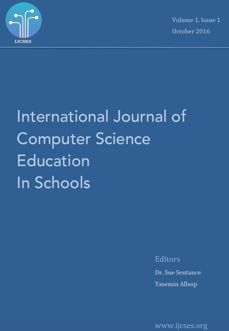 International Journal of Computer Science Education in Schools | Transformational Teaching and Technology | Scoop.it
