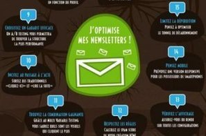 Infographie : les 15 leviers d'optimisation d'une campagne emailing | Marketing ou Marketing 2.0 | Scoop.it