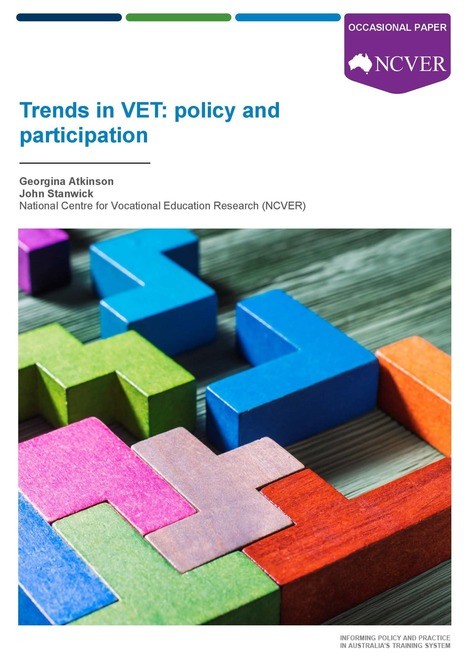 Trends in VET: policy and participation | Vocational education and training - VET | Scoop.it
