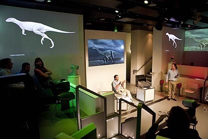 Augmented Reality at the Natural History Museum's Attenborough Studio | Culture24 | Digital Marketing Power | Scoop.it