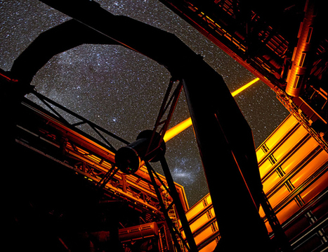 Short Sharp Science: Giant laser creates an artificial star to clear the sky   Science, research and innovation news   Scoop.it